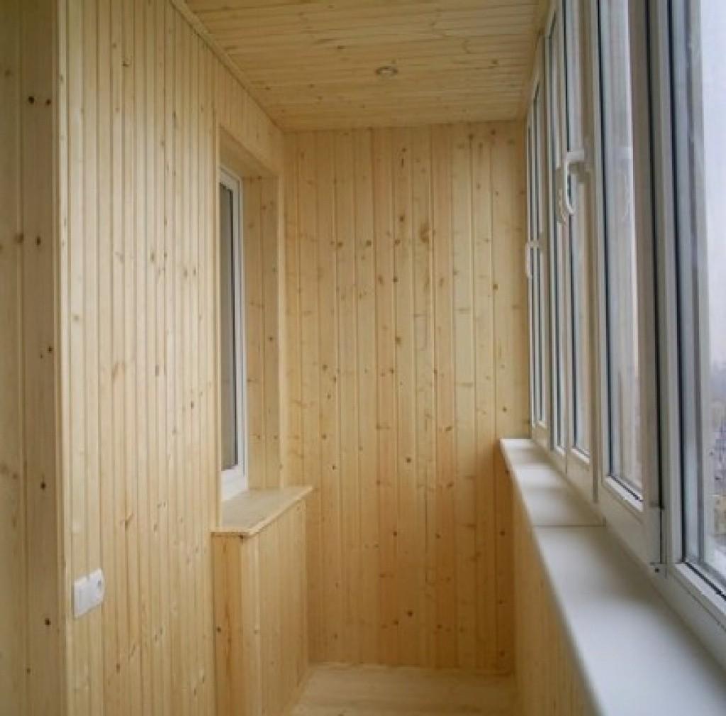Внутренняя отделка балконов, лоджий, а также в Челябинске.